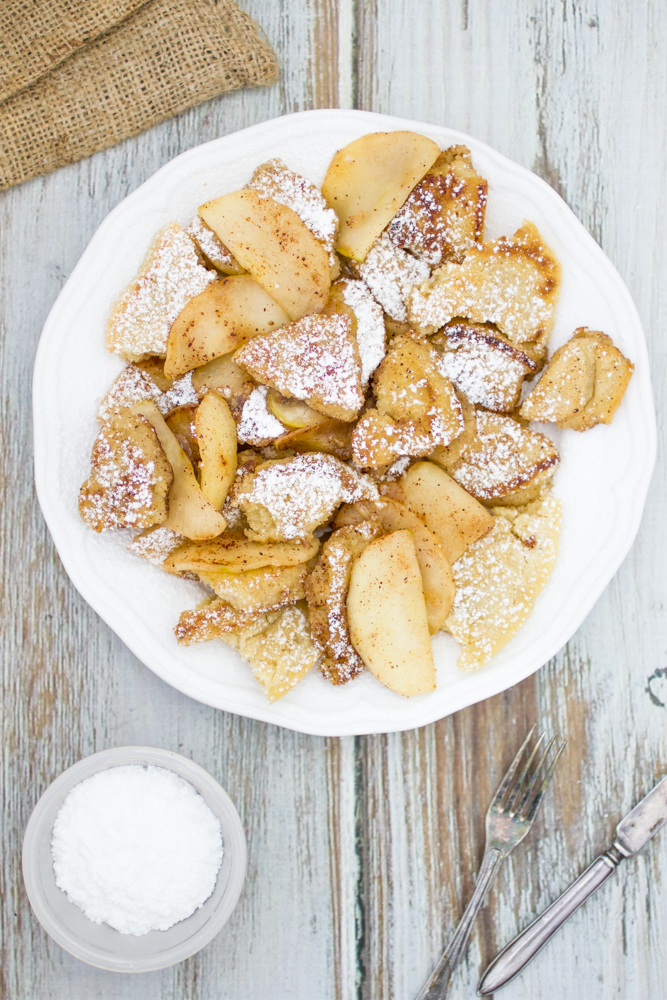 Kaiserschmarrn Vegan Recipe (Shredded Pancake)