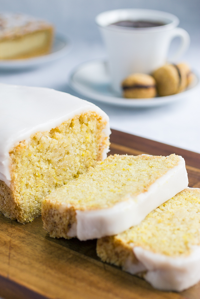 Lemon Chocolate Chip Pound Cake