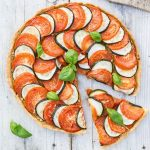 This zucchini tomato tart is perfect for sunny summer dayshellip